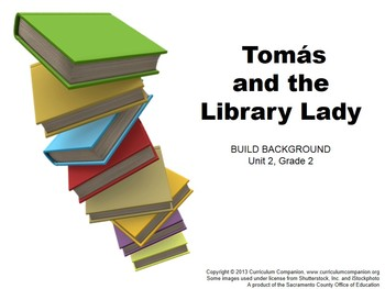 CA Treasures Tomás and the Library Lady Grade 2 Unit 2 (C