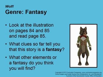 CA Treasures Wolf! Grade 3 Unit 1 (Common Core Standards)