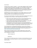 CAASPP Letter to Parents