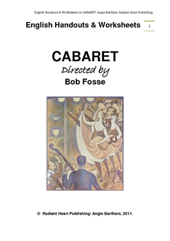 CABARET - Bob Fosse film English Handouts and Worksheets