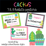 CACTUS 7 and 8 Habits Posters