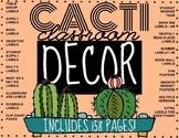 CACTUS THEMED CLASSROOM DECOR