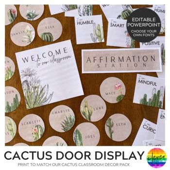CACTUS Classroom Door Display