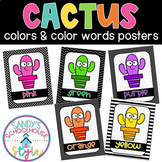 CACTUS Colors Posters-Classroom Decor
