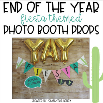 CACTUS & FIESTA THEMED PHOTO BOOTH PROPS