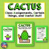 CACTUS Homework Folder