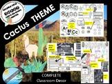 CACTUS / LLAMA class theme decor BACK TO SCHOOL
