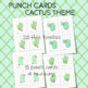 CACTUS  PUNCH CARDS Classroom Management