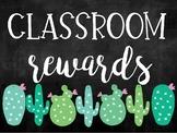 CACTUS THEMED Classroom Rewards!