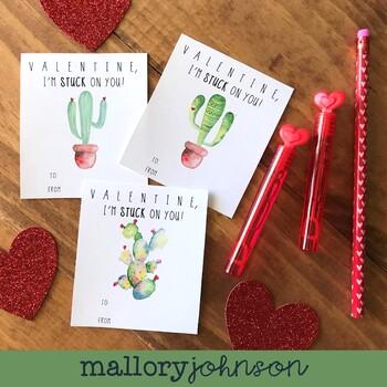 CACTUS Valentine's Day Cards