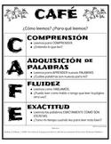 CAFÉ MENU (BILINGUAL SPANISH DUAL IMMERSION VERSION FOR BILITERACY)