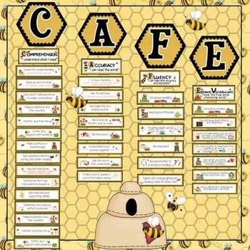 CAFE Bee Bulletin Board Set