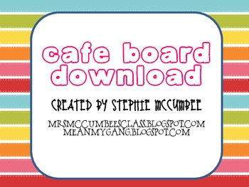CAFE Board Free Download