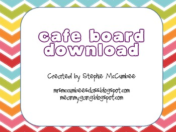 CAFE Board Free Download Chevron