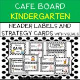 CAFE Board for Kindergarten - Bulletin Board Set - includes Strategy Cards