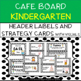 CAFE Board for Kindergarten - Bulletin Board Set - includes Strategy Cards