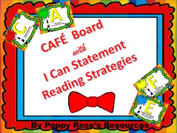 CAFE Board - Fun themed