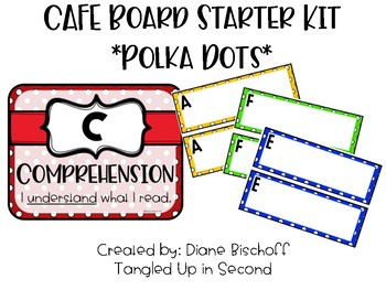 Dots CAFE Board Starter Kit (Editable!)