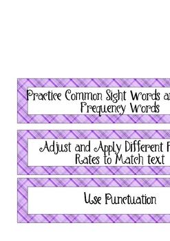 CAFE Board Strategy Cards: Fluency
