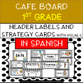 CAFE Board for 1st Grade IN SPANISH - Board Set - includes Strategy Cards