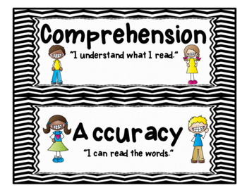CAFE Board for 2nd Grade - Bulletin Board Set - includes Strategy Cards