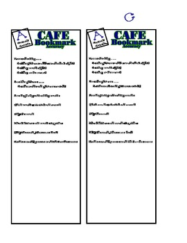 CAFE Bookmarks for IR