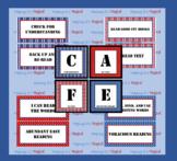 CAFE Bulletin Board Display