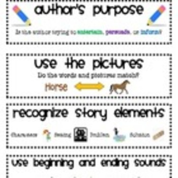 CAFE Bundle-Headings and Strategies for your Bulletin Board!
