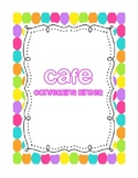 CAFE Conferring / Conference Binder -- Teacher Pensieve Polkadot Theme
