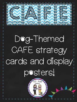 CAFE Dog Themed Strategy Cards and Posters