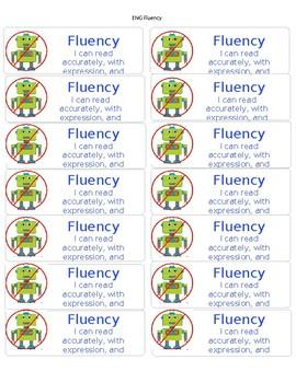 CAFE Fluency goal in blue