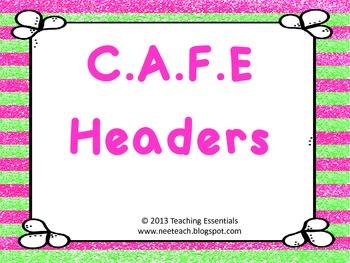 C.A.F.E. Headers - Butterflies