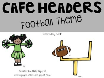 CAFE Headers Football Theme