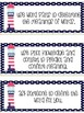 CAFE Headers and Strategy Cards Pink and Blue Nautical