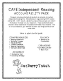 CAFE Independent Reading Accountability Pack