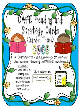 Reading Strategy Cards, Letters, and Posters - Tall Version