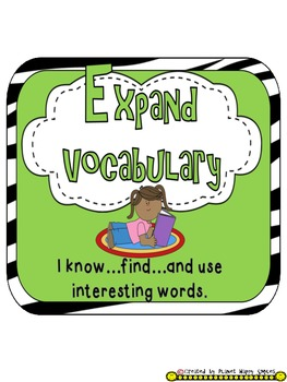 Reading Strategy Cards, Letters, and Posters (Zebra Print) - Tall Version