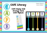 CAFE Literacy Display Signs and Reading Strategies Flipbook