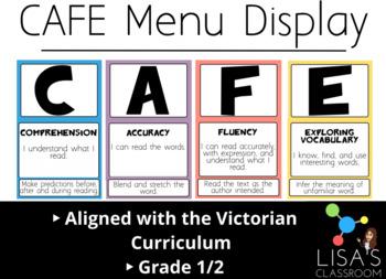CAFE MENU 1/2 *Victorian Curriculum**
