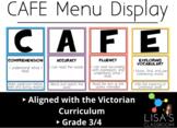 CAFE MENU 3/4 *Victorian Curriculum**