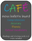 CAFE Menu Bulletin Board