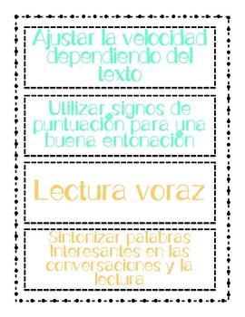 CAFE Menu Bulletin Board Setup-In Spanish