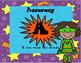 CAFE Menu Cards - Superhero Themed