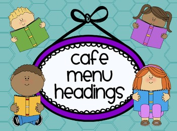 CAFE Menu Headings