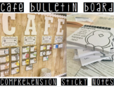 CAFE Menu Posters & Customized Sticky Notes