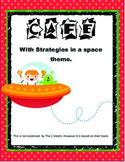 CAFE Menu and Strategy cards W/ Space Theme