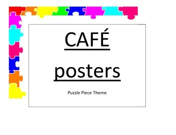 CAFE Posters
