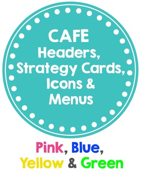 CAFE Posters BRIGHT (Headers, Strategy Cards, Icons & MENUS)