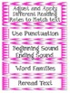 CAFE Posters & Strategy Cards Chevron Polka Dots