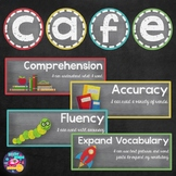 CAFE Posters and Strategies (Chalkboard Theme)